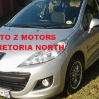 For Sale 2012 Peugeot 207 1.4 Popart  5 Dr Hatchback