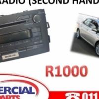 Toyota Auris 2009 Radio (Second hand)