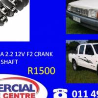 ford/mazda 2.2 12v f2 crank shaft