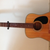 Morris 12 String Acoustic Guitar 1976 with case