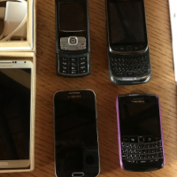 Cell phones x 6 mix