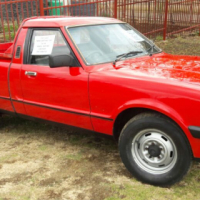 Ford Cortina 1983 Red 3L V6 for sale