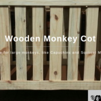 Wooden Monkey Cots