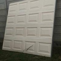 Garage door and motor