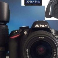 Nikon D3200 24MP Twin Lens Bundle