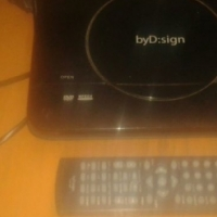 By D Sign dvd player with remote