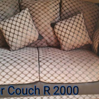 Criss cross 2 seater couch