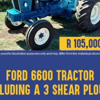 Ford 6600 Refurbished Second Hand Tractor