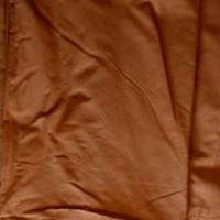Terracotta color curtains