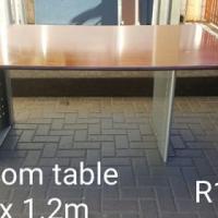 Darker boardroom table