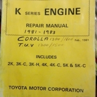 Toyota Corolla 1300 / 1600 1981 - 83: repair manual