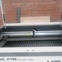 PS 1410 Laser Cutter Machine With 100 Watt Laser Tube And Honeycomb Table With Water Chiller