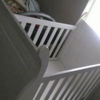 Adjustable Sleigh cot