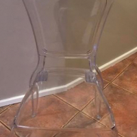 4 french ghost chairs - price per chair