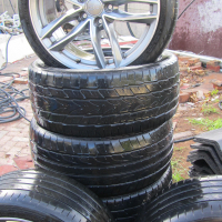 Audi tyres and rims