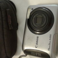canon digital camera with pouch