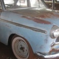 1954 Willys Aero Ace for restoration
