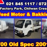 Kia K2700 old spec stripping for spares