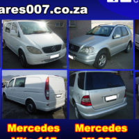Merce3des \vito 112, 115 and Mercedes ML320, ML270 stripping for spares