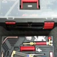 Afrox cutting and welding set.
