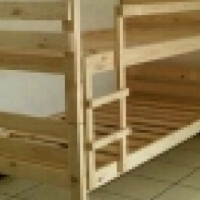 solid ,smoothly sanded pine furniture