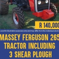 Massey Ferguson 265 Second Hand Tractor