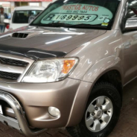 2007 Toyota Hilux 3.0 D4D D/C R/B  Raider with  264000Km's, Service History,  Powersteering