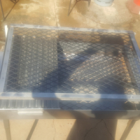 full stainles braai for sale with stainles wors pan