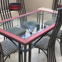 Wrought Iron Dining Suite