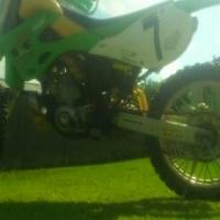 Kawasaki Kx 250 and Honda nxr 125