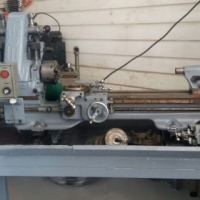 Myford ML7 with milling attachment