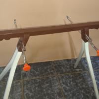 Knitting machine stand