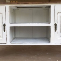 Server sideboard antique retro white