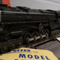 Lionel Four Car Steam Freight Train Set