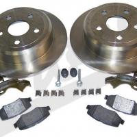 Disc Brake Service Kit Rear, Left and Right - Jeep Wrangler (JK) 52060147K