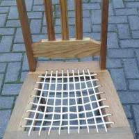 Oak riempie chair