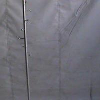 Grey/chrome coat hanger  x1 In Stock
