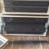 In mint condition complete professional sound system for sale...