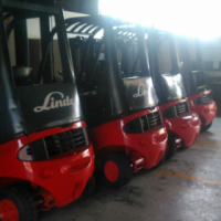 1.6 - 3 TON LINDE GAS & DIESEL FORKLIFTS FOR SALE - GOOD CONDITION