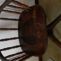 ANTIQUE SWIVEL CHAIR - VERY GOOD CONDITION