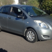 2009 TOYOTA  YARIS 1.3 NICE  SMALL CAR WITH AIR CON AND POWER STEERING