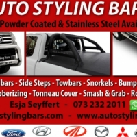 Ford Ranger, Wildtrack, Opel Corsa/ Chev, Isuzu, Nissan NP200, NP300, Toyota Hilux, Toyota Fortuner.