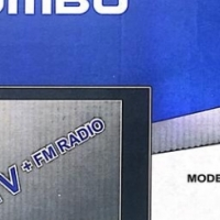 JUMBO TV with FM radio brand new