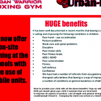 Urban Ed - Boxing Sessions to improve your childs co-ordination