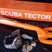 Deteknix Scuba Tector - Waterproof Hand Held Metal Detector, 60m