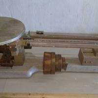 Antique balance scale.