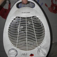 Heated fan