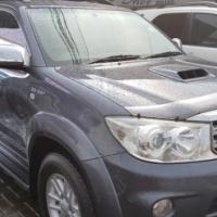 2011 toyota fortuner 3.0d-4d auto