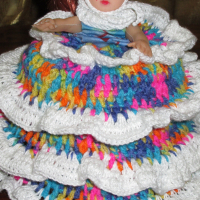 Various knitted and Crocheted items