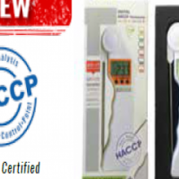 HACCP DIGITAL THERMOMETER WITH ROTARY PROBE